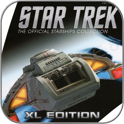 RUNABOUT SHUTTLE (EAGLEMOSS XL EDITION STAR TREK STARSHIP COLLECTION)