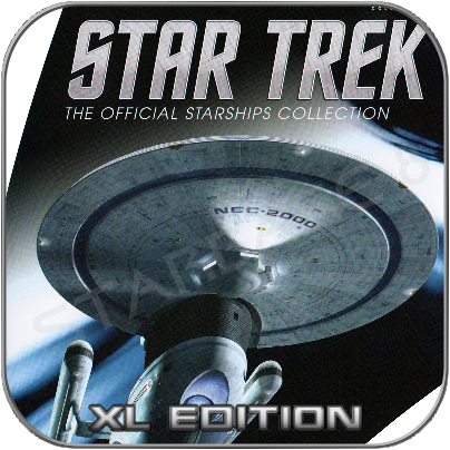 USS EXCELSIOR (EAGLEMOSS XL EDITION STAR TREK STARSHIP COLLECTION)