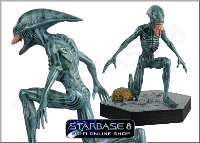 DEACON ALIEN (ALIEN PREDATOR EAGLEMOSS COLLECTION)