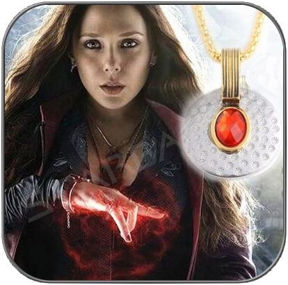SCARLET WITCH HALSKETTE / NECKLACE - MARVEL AVENGERS