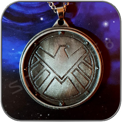 MODERN SHIELD EMBLEM HALSKETTE / NECKLACE - MARVEL ANGENTS OF SHIELD
