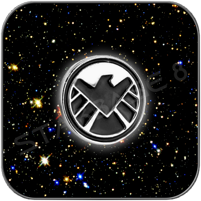 SHIELD LOGO ANSTECK PIN - MARVEL CINEMATIC