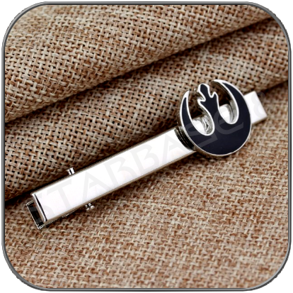 REBEL ALLIANCE KRAWATTENKLAMMER BLACK - STAR WARS TIE CLIP