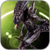 ALIEN XENOMORPH WARRIOR (ALIEN PREDATOR EAGLEMOSS FIGURINE COLLECTION)