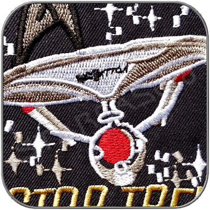 STAR TREK USS ENTERPRISE 1701 AUFNÄHER / PATCH