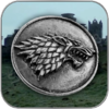 HOUSE OF STARK BROSCHE ANSTECKER PIN - GAME OF THRONES