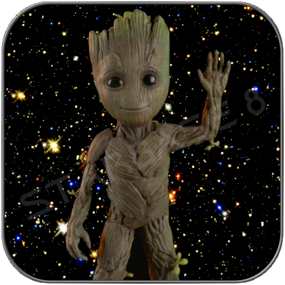 BABY GROOT LIFESIZE STATUE - GUARDIANS OF THE GALAXY