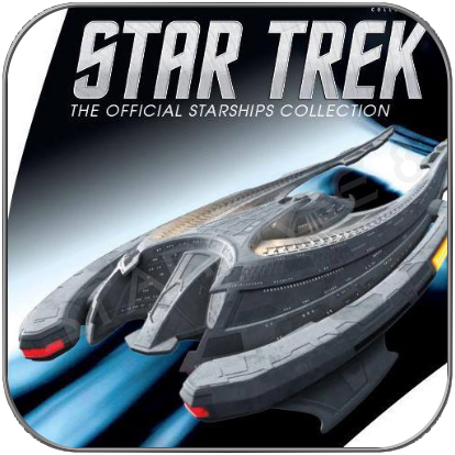SON'A FLAGSHIP (EAGLEMOSS STAR TREK STARSHIP COLLECTION SI19)