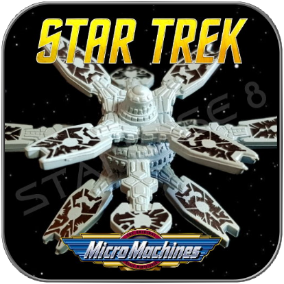 THE CARETAKER STATION - STAR TREK MICRO MACHINES