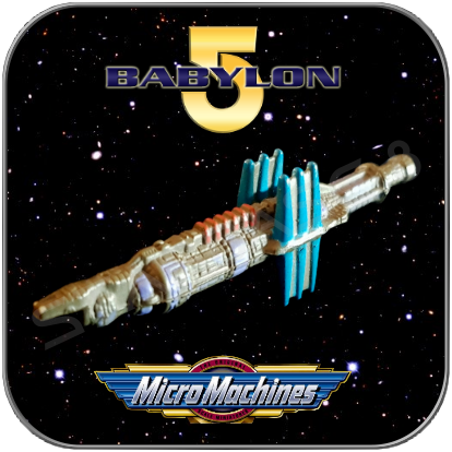 BABYLON 5 STATION - MICRO MACHINES