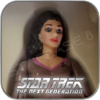COUNSELOR DEANNA TROI - STAR TREK PLAYMATES ACTION FIGUR