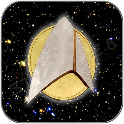 ANNO 2400 STARFLEET COMMUNICATOR SET - GLANZ -