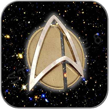 ANNO 2400 STARFLEET COMMUNICATOR SET - MATT -