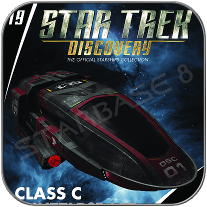 CLASS C SHUTTLECRAFT (EAGLEMOSS STARSHIP COLLECTION STAR TREK DISCOVERY)