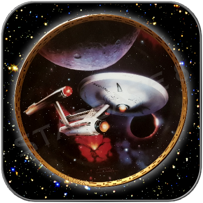 USS ENTERPRISE 1701 - HAMILTON STAR TREK SCHMUCKTELLER