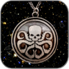 HYDRA EMBLEM HALSKETTE / NECKLACE - MARVEL ANGENT OF SHIELD