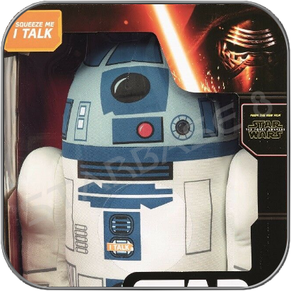 R2-D2 TALKING PLUSH 38cm (15inch) - STAR WARS TOY