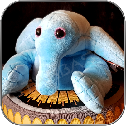 MAX REBO PLUSH mit SOUND 15cm (6inch) - STAR WARS TOY