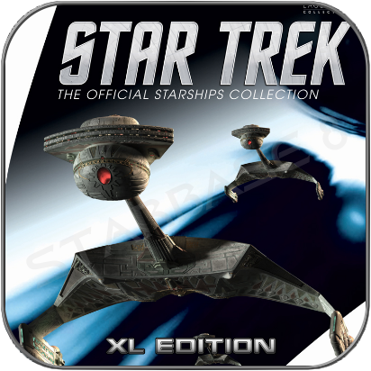 KLINGON BATTLE CRUISER (EAGLEMOSS XL EDITION STAR TREK STARSHIP COLLECTION)