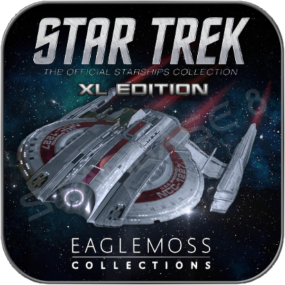 USS SHENZHOU (EAGLEMOSS XL EDITION STAR TREK STARSHIP COLLECTION)