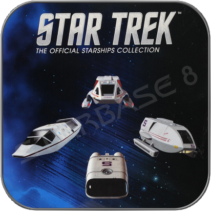 SHUTTLE SPECIAL SET 5 (EAGLEMOSS STAR TREK STARSHIP COLLECTION)