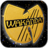 WAKANDA LOGO - BLACK PHANTER AUFNÄHER / PATCH