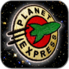 PLANET EXPRESS - FUTURAMA AUFNÄHER PATCH