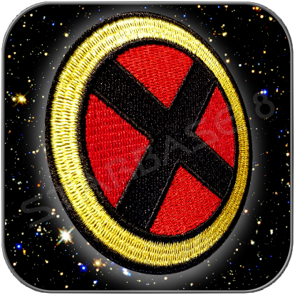 X-MEN LOGO - MARVEL AUFNÄHER / PATCH