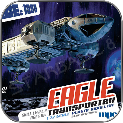 "14"" EAGLE TRANSPORTER - 35cm MPC SPACE 1999 MODELL BAUSATZ"