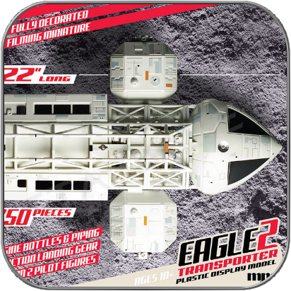 "22"" EAGLE 2 TRANSPORTER - 56cm MPC SPACE 1999 DISPLAY MODEL"