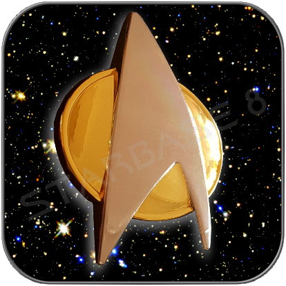 TNG STARFLEET COMMUNICATOR - STAR TREK THE NEXT GENERATION