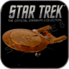 USS ENTERPRISE 1701-D GOLD MODEL (EAGLEMOSS STAR TREK STARSHIP COLLECTION)