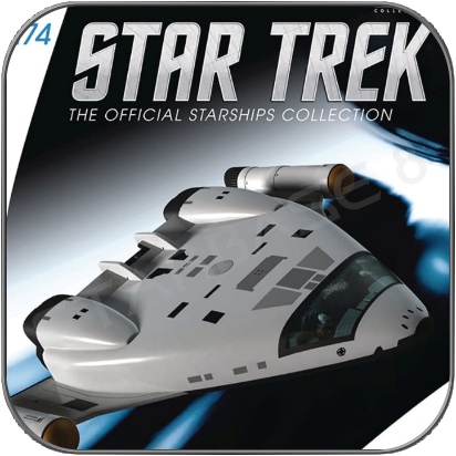 ARCHERS TOY SHIP (EAGLEMOSS STAR TREK STARSHIP COLLECTION)