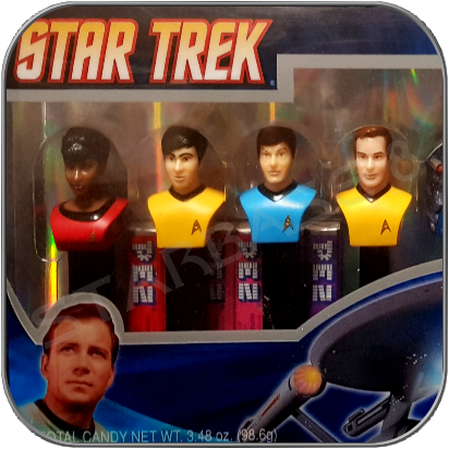 PEZ STAR TREK CLASSIC COLLECTOR EDITION
