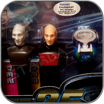 PEZ STAR TREK TNG LOCUTUS SPECIAL COLLECTOR EDITION