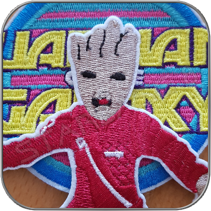 ANGRY BABY GROOT - GUARDIANS OF THE GALAXY AUFNÄHER / PATCH