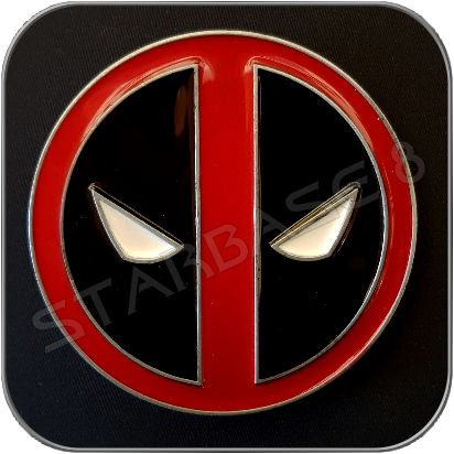 DEADPOOL LOGO GÜRTELSCHNALLE / BELT BUCKLE