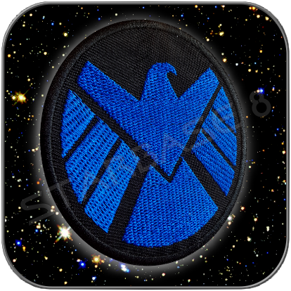 SHIELD BLUE DIVISION UNIFORM EMBLEM TEXTIL AUFNÄHER PATCH