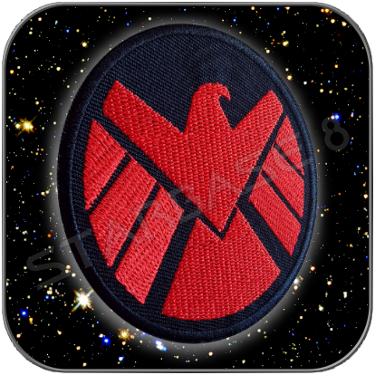 SHIELD RED DIVISION UNIFORM EMBLEM TEXTIL AUFNÄHER PATCH