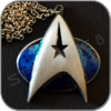 STARFLEET COMMAND COMMUNICATOR HALSKETTE / NECKLACE