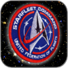 STARFLEET COMMAND UNITED FEDERATION OF PLANETS DISCOVERY PREMIUM AUFNÄHER PATCH