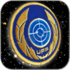 UFP UNITED FEDERATION OF PLANETS DISCOVERY PREMIUM AUFNÄHER PATCH