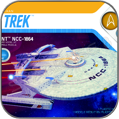U.S.S. RELIANT NCC-1864 (1/1000 POLAR LIGHTS MODELL BAUSATZ)