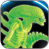 GRID ALIEN XENOMORPH PREDATOR VISION  GLOW IN THE DARK SPECIAL EDITION