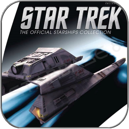 VULKANISCHES LANGSTRECKEN SHUTTLE (EAGLEMOSS STAR TREK STARSHIP COLLECTION)
