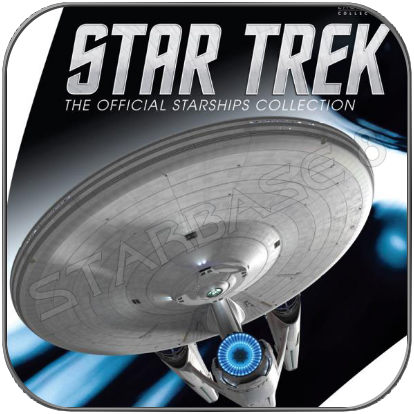 USS ENTERPRISE 1701 KELVIN TIMELINE (EAGLEMOSS XL EDITION STAR TREK STARSHIP COLLECTION)