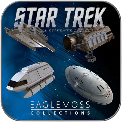 SHUTTLE SPECIAL SET 7 (EAGLEMOSS STAR TREK STARSHIP COLLECTION)