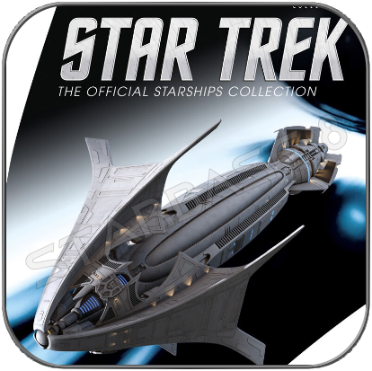 SO'NA COLLECTOR SHIP (EAGLEMOSS STAR TREK STARSHIP COLLECTION)