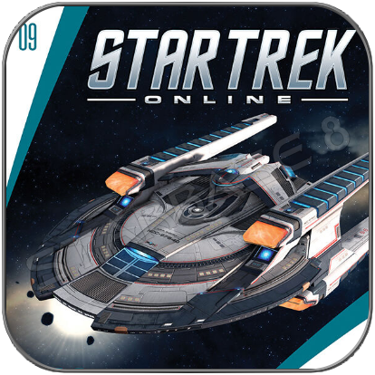 USS EUROPA - STAR TREK ONLINE (EAGLEMOSS STARSHIP COLLECTION)
