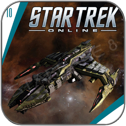 KLINGON IKS MOGH - STAR TREK ONLINE (EAGLEMOSS STARSHIP COLLECTION)